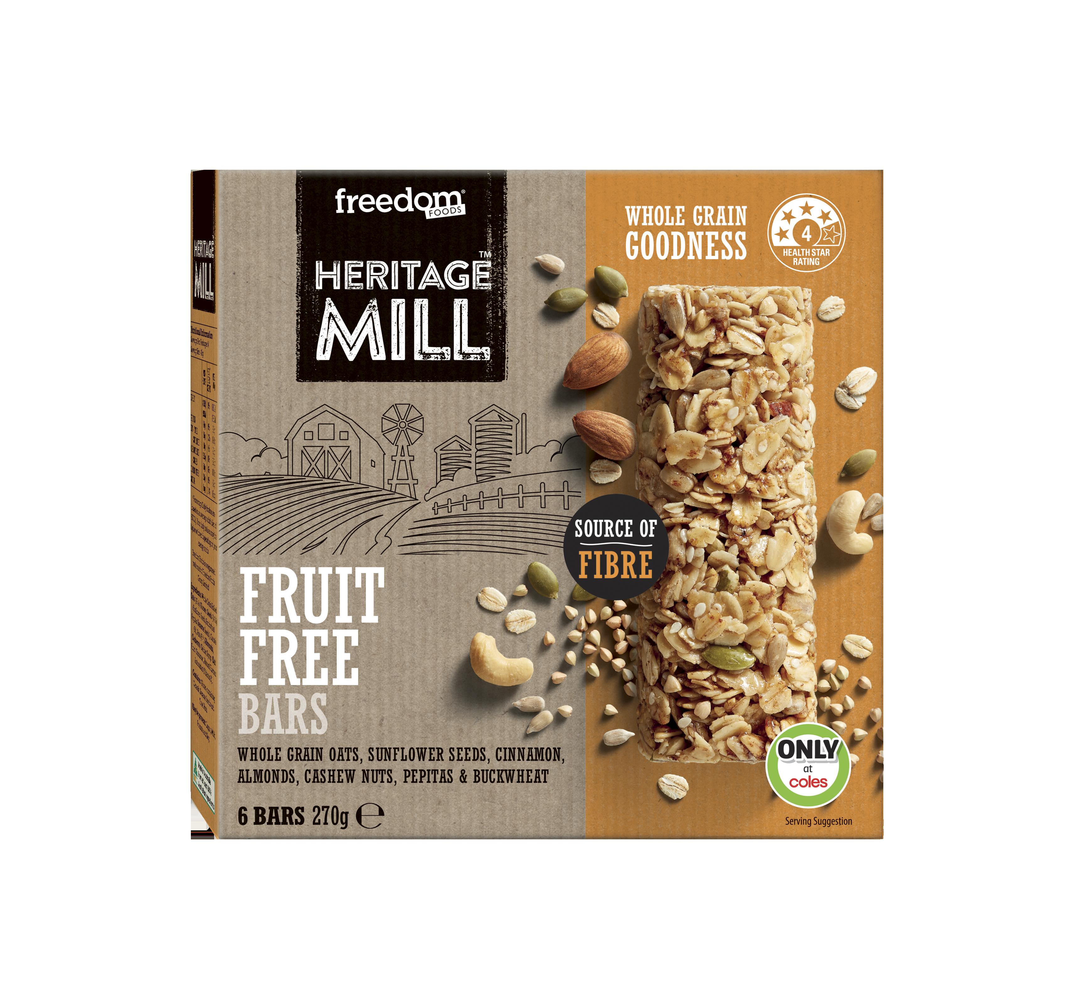 Heritage Mill Fruit Free Bars