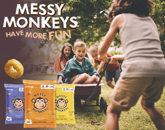 Messy Monkeys Have More Fun