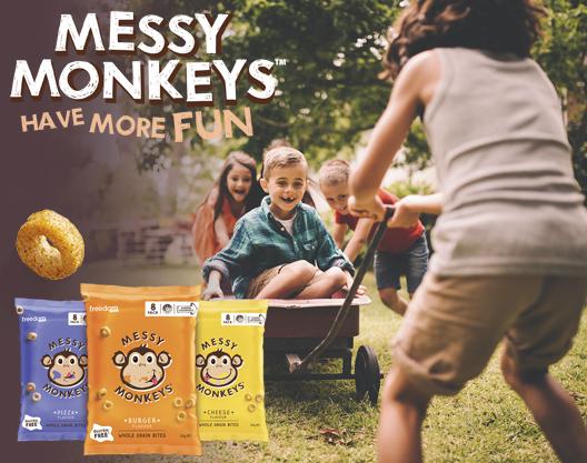 Messy Monkeys Have More Fun