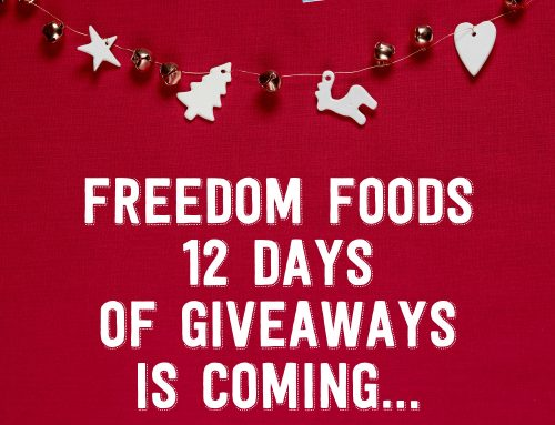 Freedom Foods 12 Days of Giveaways