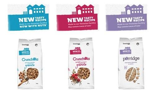 The New Crunchola & Porridge Ranges and Allergen Statements
