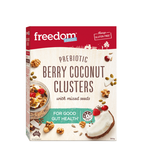 BERRY COCONUT CLUSTERS 360G