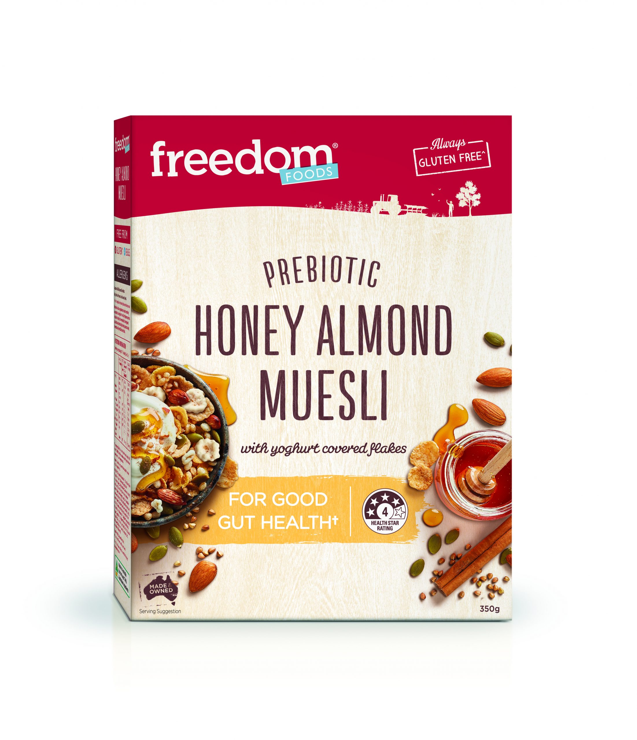 HONEY ALMOND MUESLI