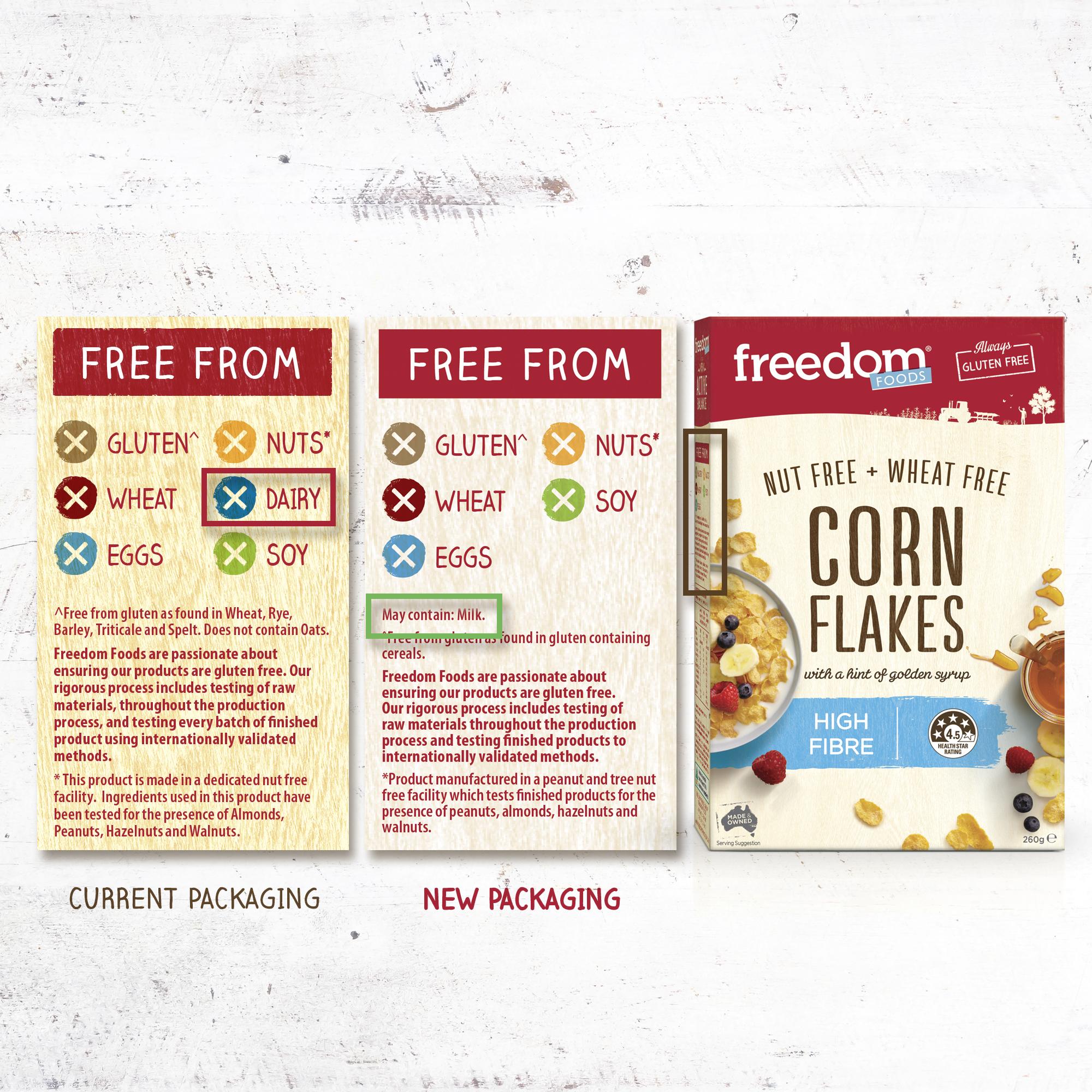 Freedom Foods Packaging