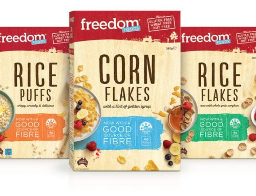 Allergen Change: Freedom Foods Classic Cereal Range and NEW Products