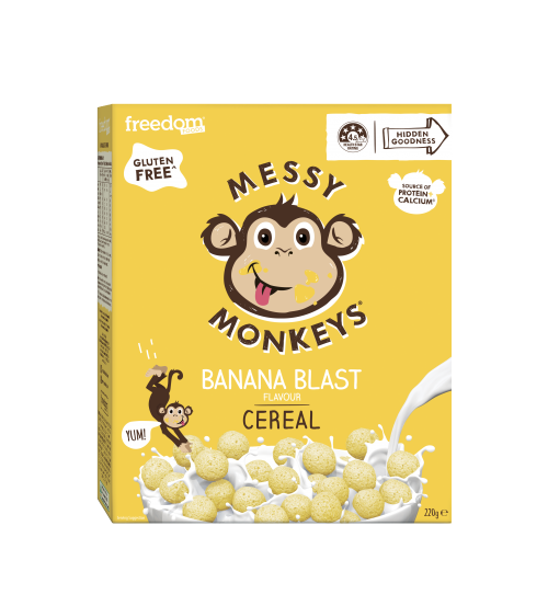 Messy Monkeys CEREAL Banana Blast 220g 2020