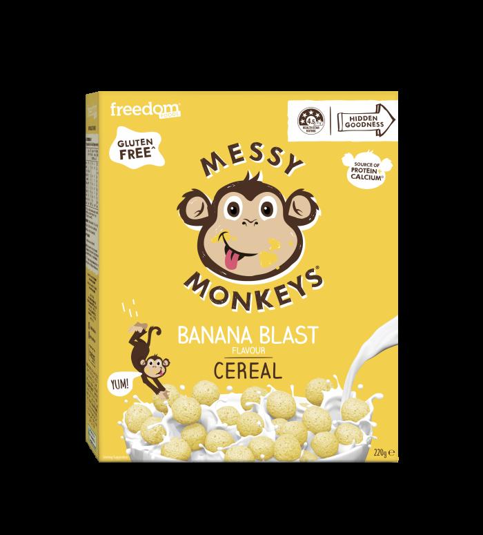 Messy Monkeys CEREAL Banana Blast 220g 2020