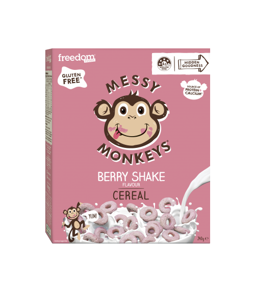 Messy Monkeys CEREAL Berry Shake 240g 2020