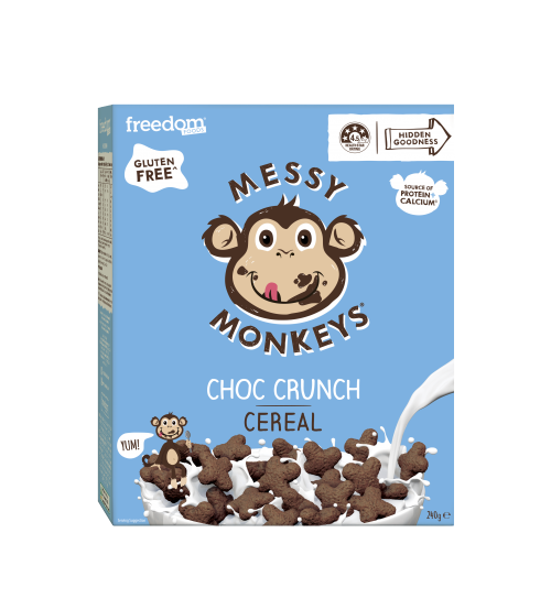 Messy Monkeys CEREAL Choc Crunch 240g 2020