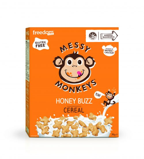 Messy Monkeys Honey Buzz Cereal render