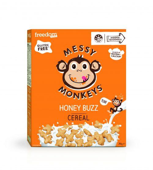 Messy Monkeys Honey Buzz Cereal render